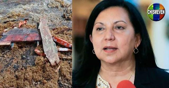 Ministra de Interior culpa a los balseros fallecidos por huir en una balsa inadecuada