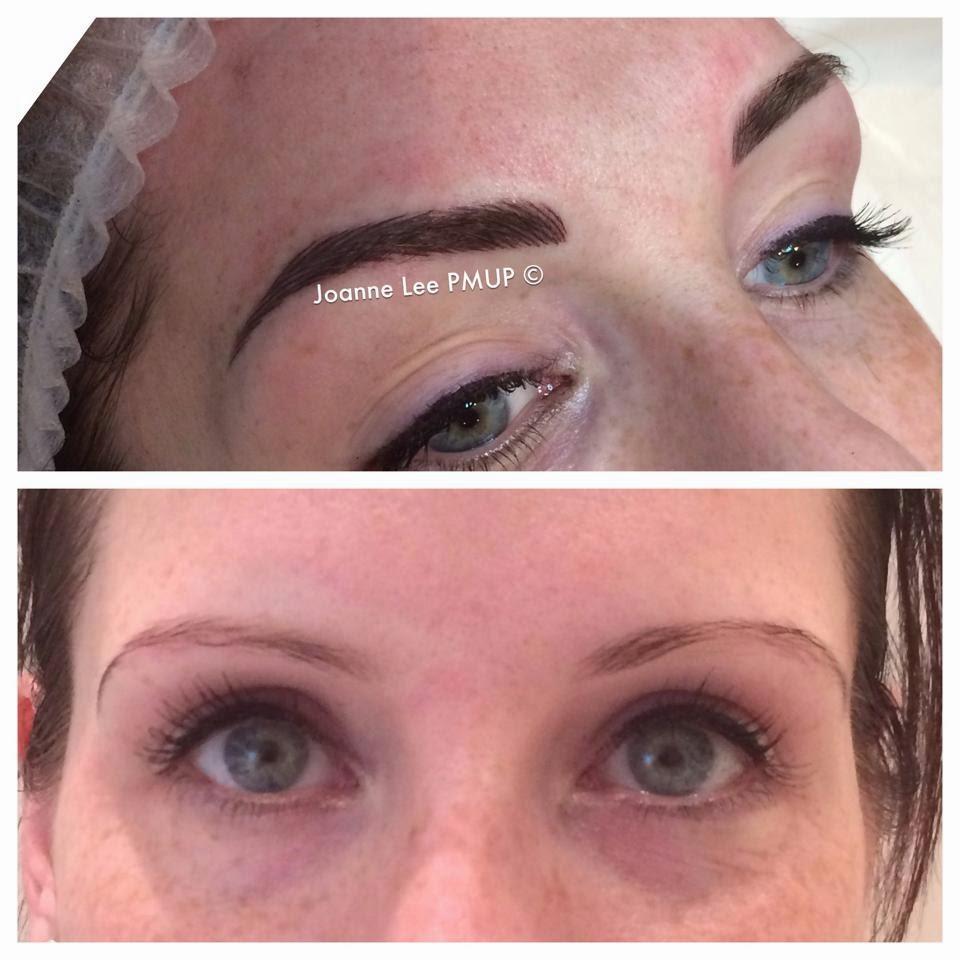 permanent makeup brows - joanne lee