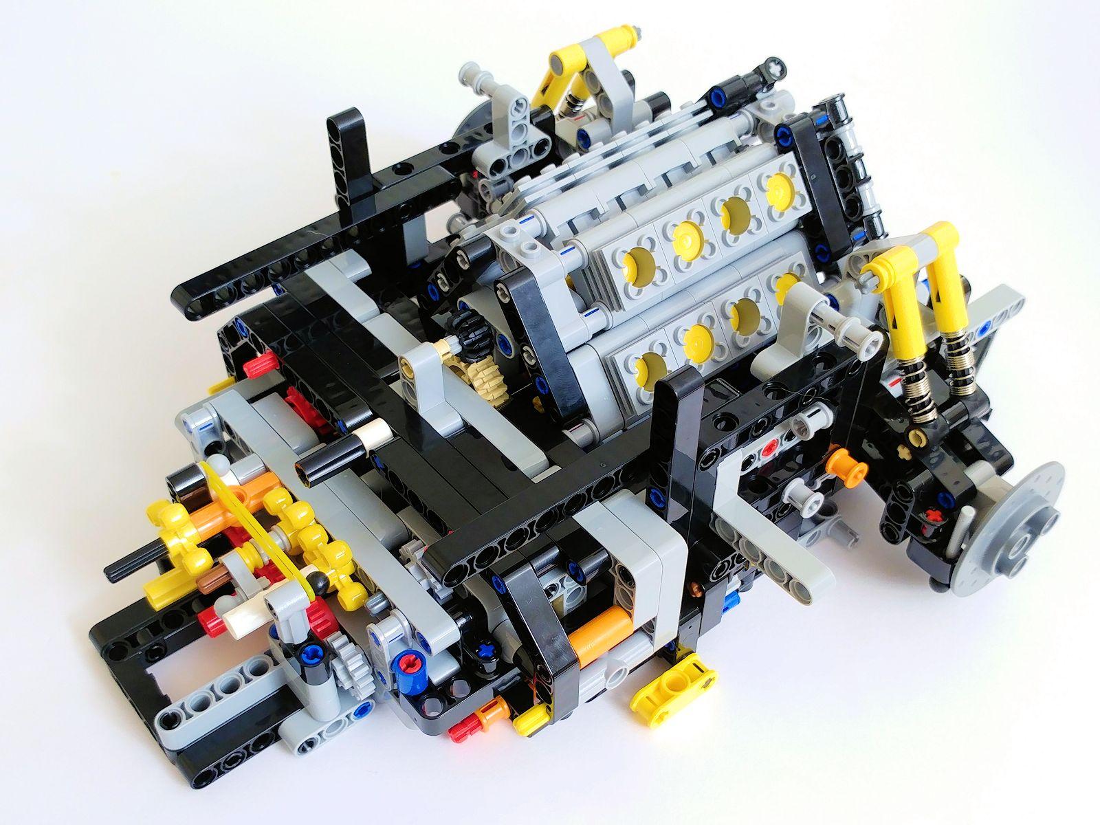 lego technic 42083 bugatti chiron the build new. Black Bedroom Furniture Sets. Home Design Ideas