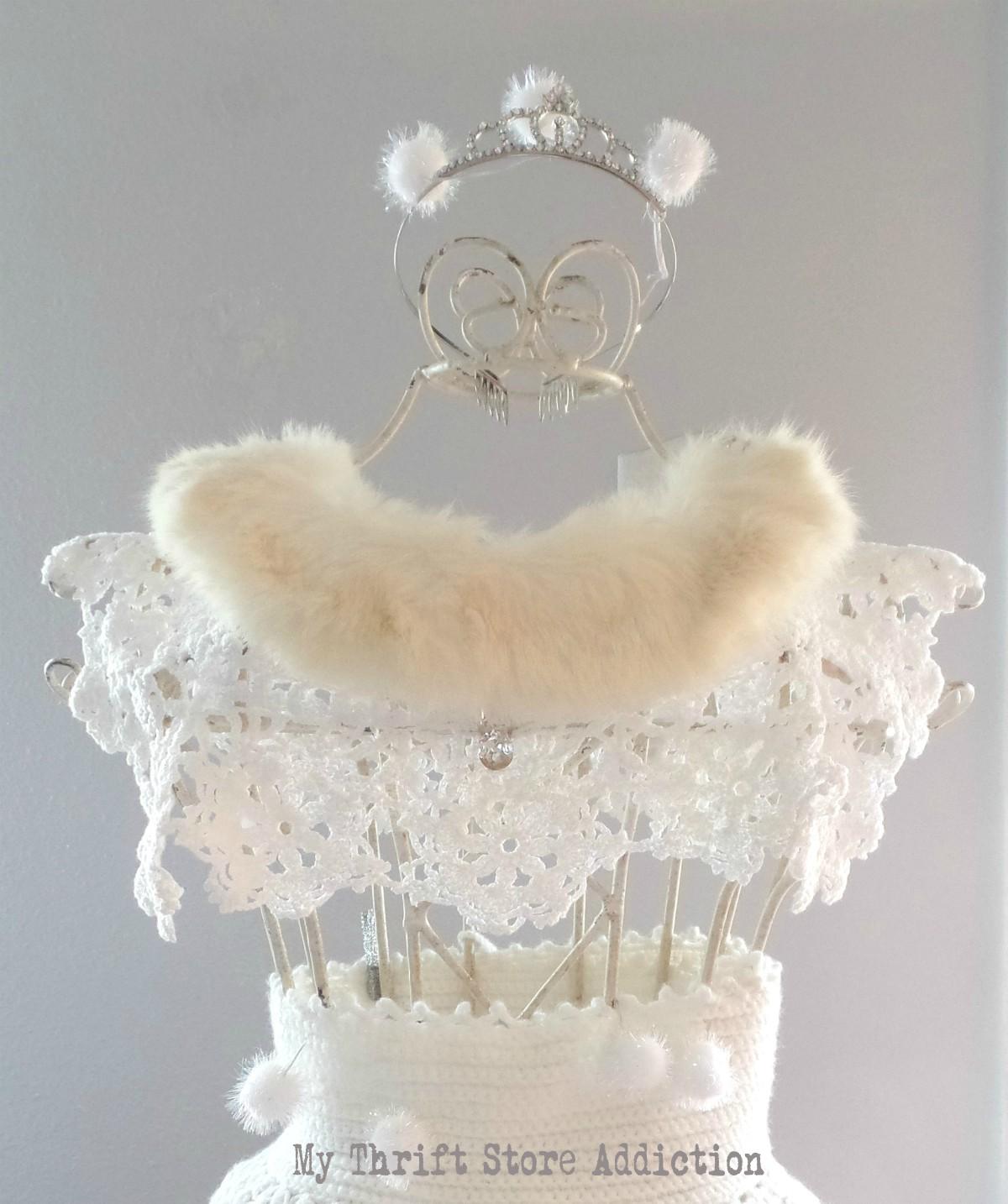Snow Queen winter dress form