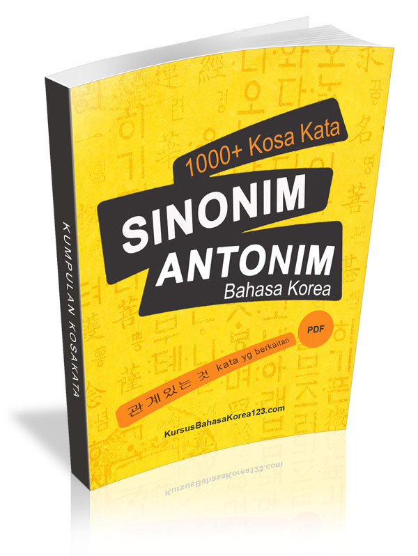 download ebook 1000 kosakata sinonim antonim bahasa korea