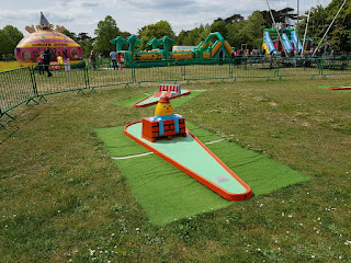 Crazy Golf at the Royal Victoria Country Park in Netley, Southampton