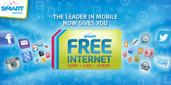 MVP announces Free Mobile Internet to all Smart, TNT and Sun subs