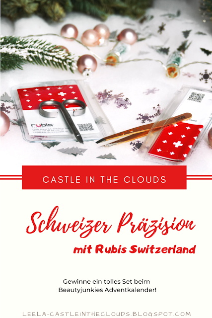 Beautyjunkies Adventkalender - Türchen 8 mit Rubis Switzerland Pinterest