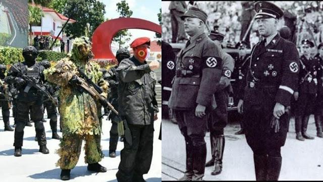 BIN: Tak Ada Pasukan Rajawali, Jangan Kaitkan ke Schutzstaffel Nazi Jerman