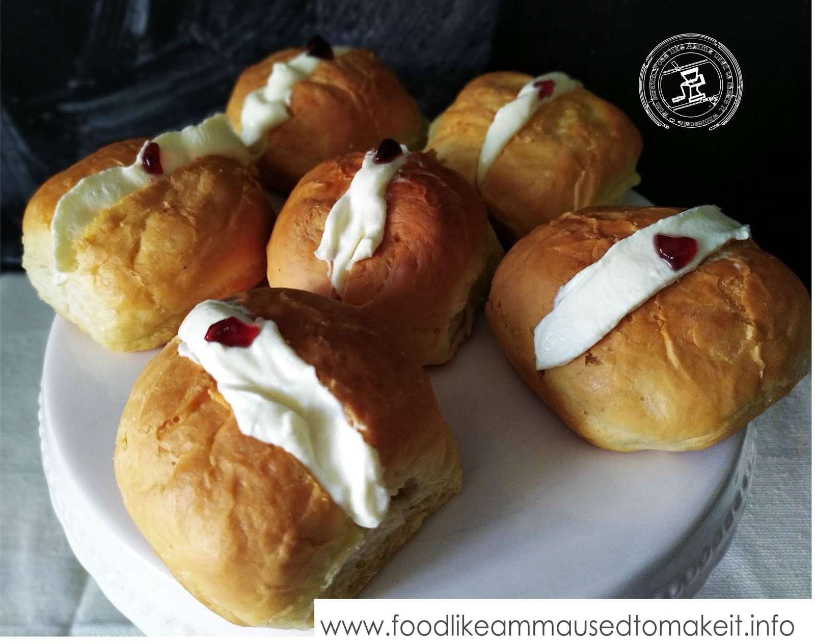 Cream Buns Recipe