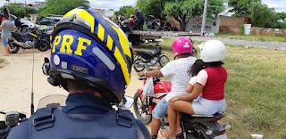 Foragido da justiça é preso pela PRF em Patos após fugir em uma motocicleta