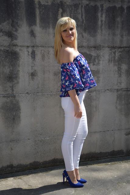 outfit jeans skinny bianchi come abbinare i jeans skinny bianchi outfit aprile 2017 outfit primaverili mariafelicia magno fashion blogger colorblock by felym fashion blog italiani fashion blogger italiane blogger di moda