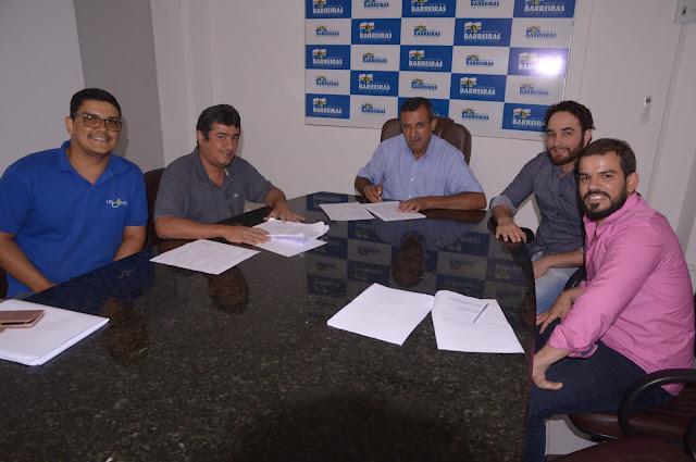 Prefeitura de Barreiras e Iniciativa Privada celebram acordo de cooperação para manutenção de espaço público
