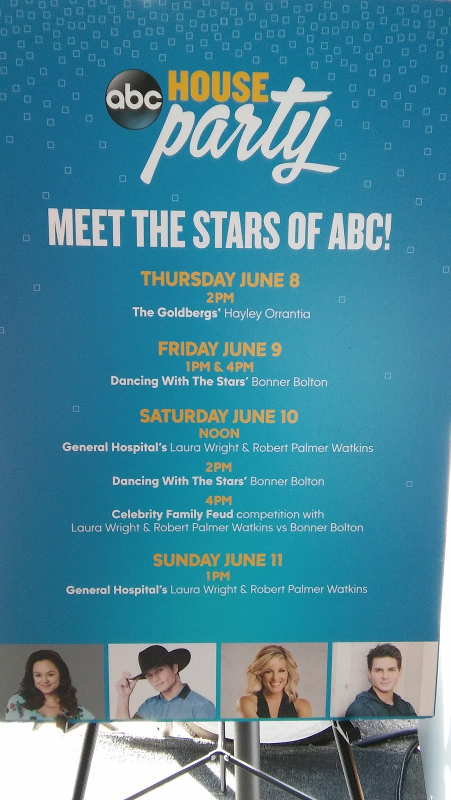 Abc Booth At Fan Alley Schedule 2018 Cma Fest Autograph Signing