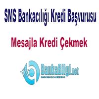 SMS Bankacılığı Kredi Başvurusu