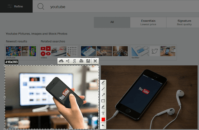 طريقة جديدة للحصول على صور جاهزه بدقة عالية الجودة مجانا