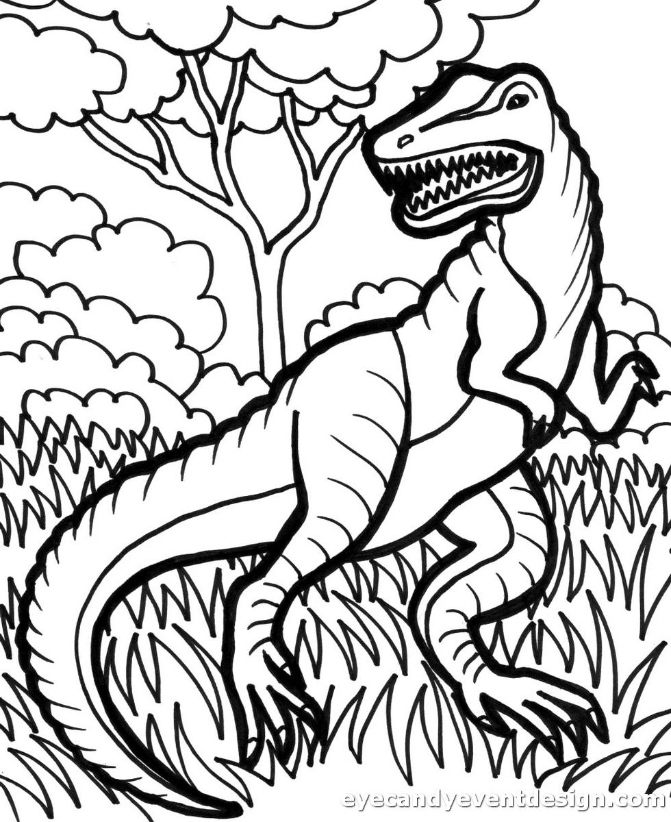 Dinosaurier Ausmalbilder Zum Ausdrucken