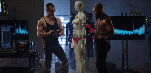 mężczyźni soft porno seksowna bielizna reklama dla kobiet striptiz spoceni faceci
