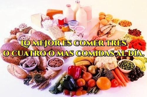 Cómo combinar los alimentos para bajar de peso