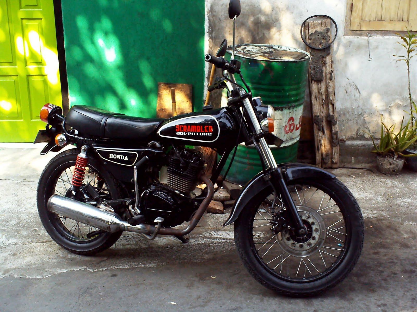 Harga Motor Gl 100 Modif Cb Motor