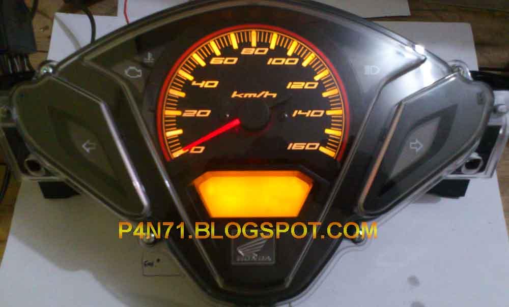 LCD Speedometer Vario 125 Blank