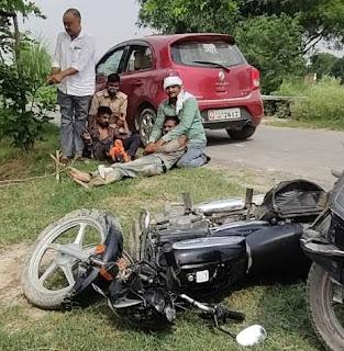पुलिस मुठभेड़ में दो बदमाश घायल, एक सिपाही जख्मी    #NayaSaberaNetwork