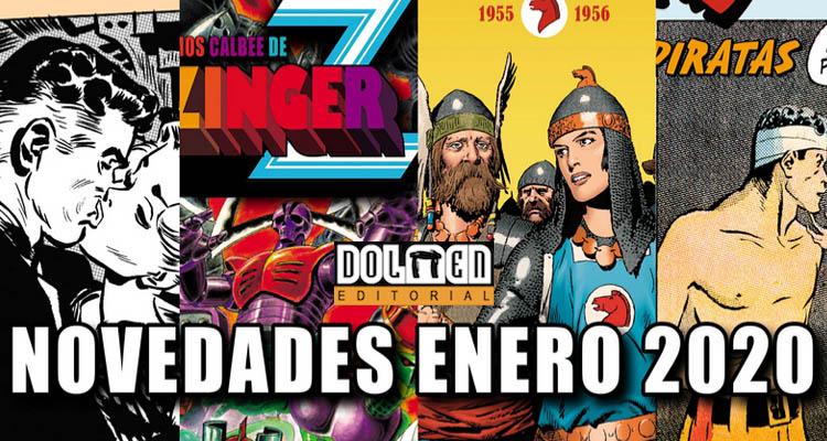 Dolmen Editorial: Novedades Enero 2020