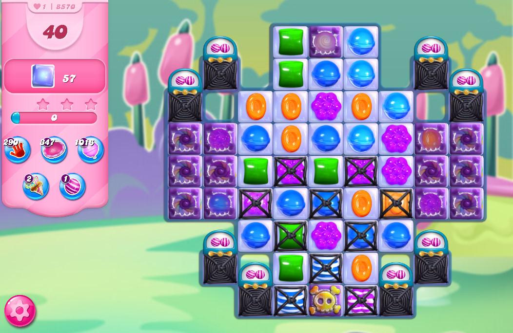 Candy Crush Saga level 8570