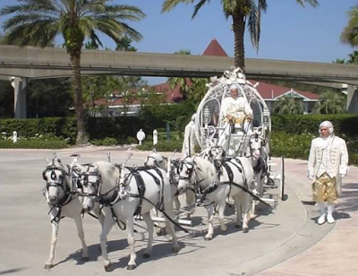 cinderella coach for disney fairytale wedding