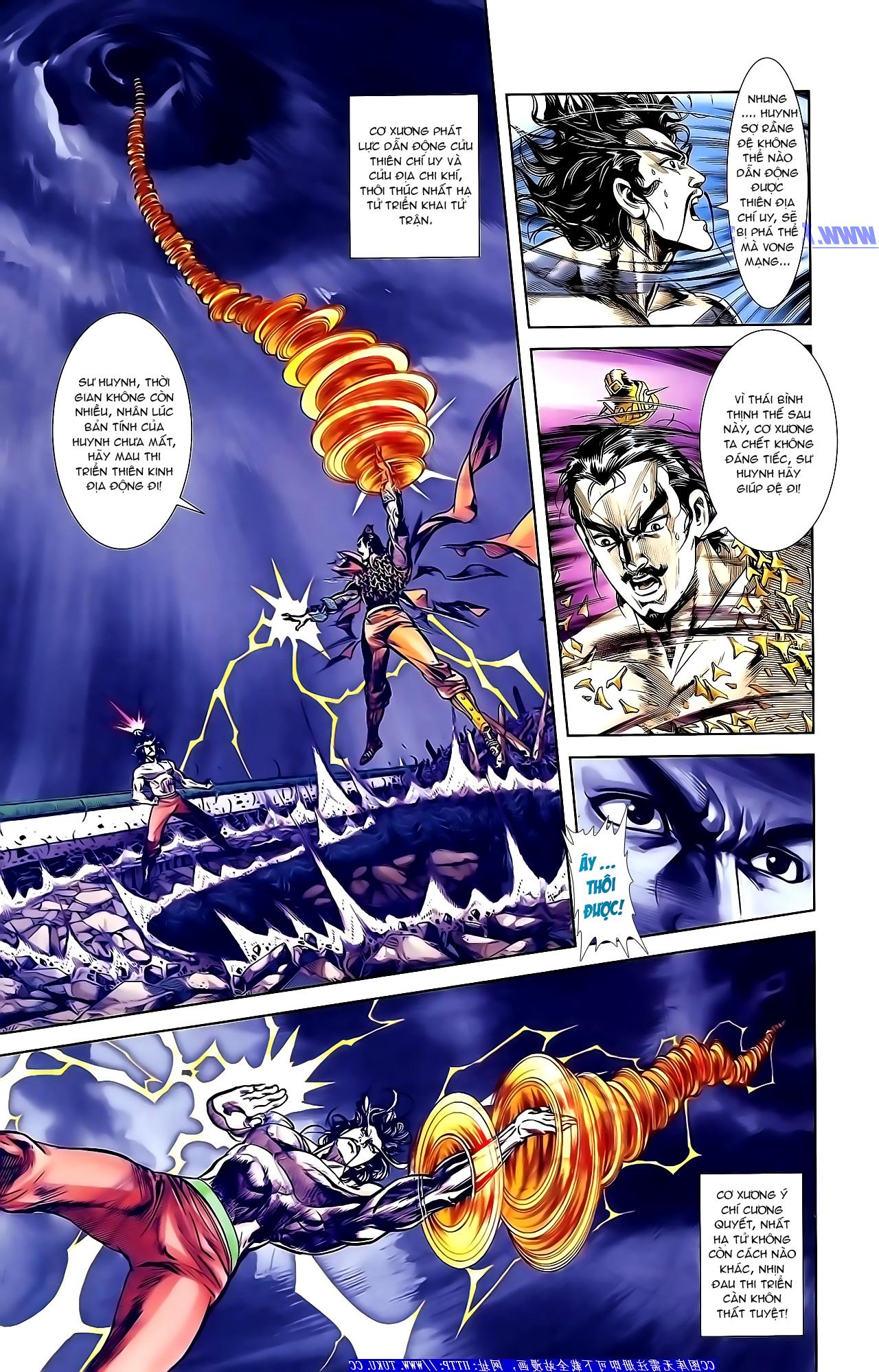 Cơ Phát Khai Chu Bản chapter 152 trang 4