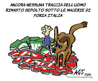 bertolaso, elezioni roma, amministrative, forza italia, vignetta, satira