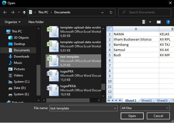 Import Data Excel Ke MySQLi Dengan PHP Dan AJAX