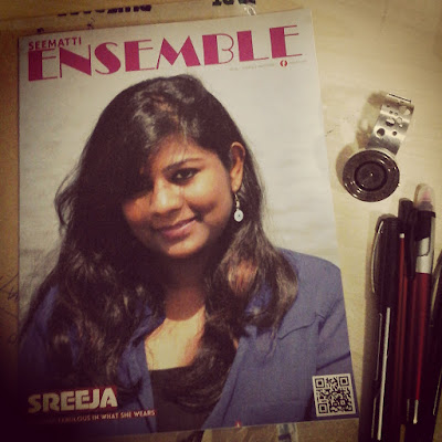 When I became a cover girl :)