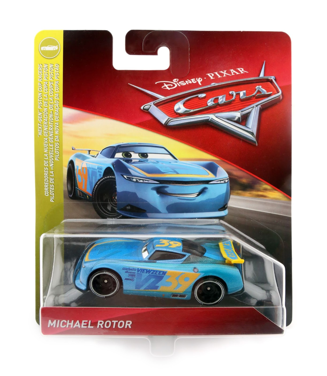 Cars 3 Michael Rotor diecast