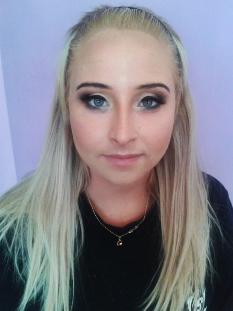 makijaż dla blondynki
