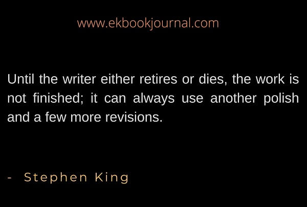 Stephne kIng Quote