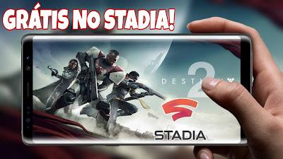 Destiny 2 grátis no STADIA