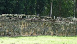 Palacio Real. La Terraza de los Elefantes.