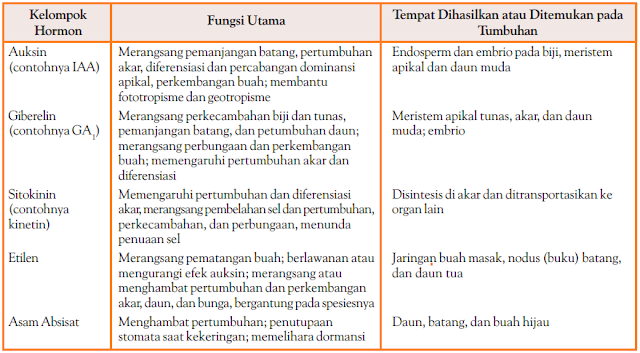 Faktor Internal Pertumbuhan & Perkembangan Tumbuhan - Hormon