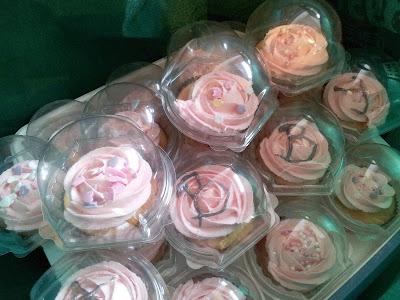 lemon cupcakes, Sunday Brunch cupcakes, Simon Rimmer Lemonade Cupcakes