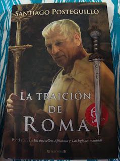 Portada del libro La traición de Roma, de Santiago Posteguillo