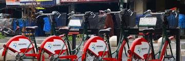 Fasilitas Sewa Sepeda Gratis di Kawasan Malioboro Yogyakarta