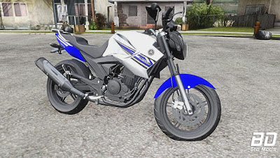 Mod , Moto, Yamaha Fazer 250 Blueflex para GTA San Andreas, GTA SA