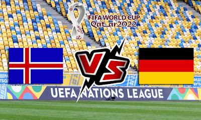 أيسلندا وألمانيا بث مباشر