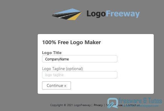 LogoFreeway : un service en ligne gratuit pour créer facilement et rapidement son logo