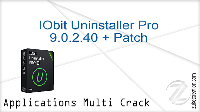 IObit Uninstaller Pro 9.0.2.40 + Patch