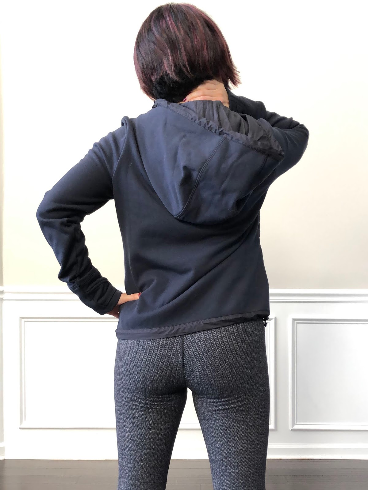 be601707dae Petite Impact  Fit Review Friday! Athleta Cozier Primaloft Hoodie