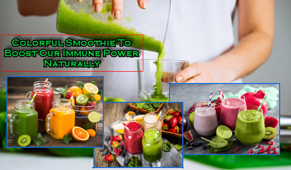 smoothie to boost our immune power naturally