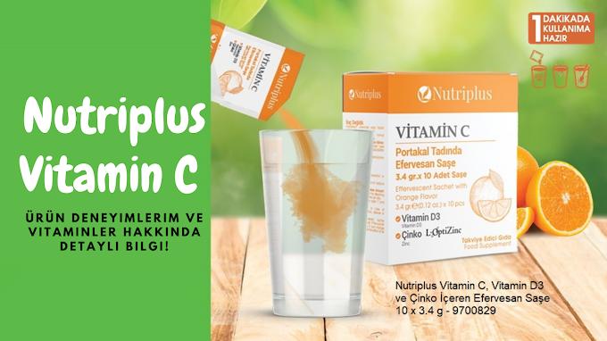 Nutriplus D3, Çinko Katkılı Vitamin C Takviyesi Faydaları