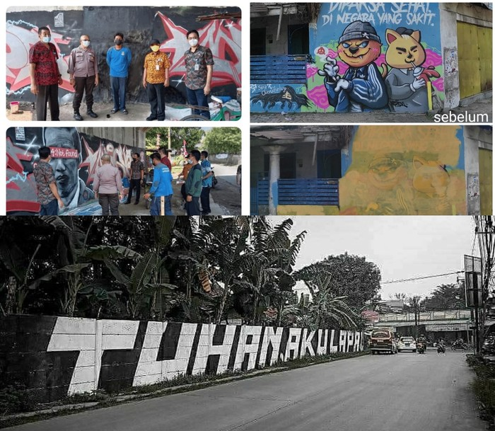 Indonesia Disebut Sedang Dilanda Penyakit Baru Bernama 'Muralphobia', Ketakutan Pemerintah Akan Kemunculan Mural