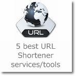5 best URL Shortener services/tools