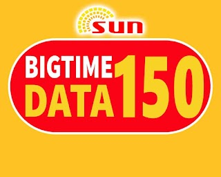 Sun BigTime Data 150 – 15 Days Unli All-net Texts, 2.5GB Data and Calls
