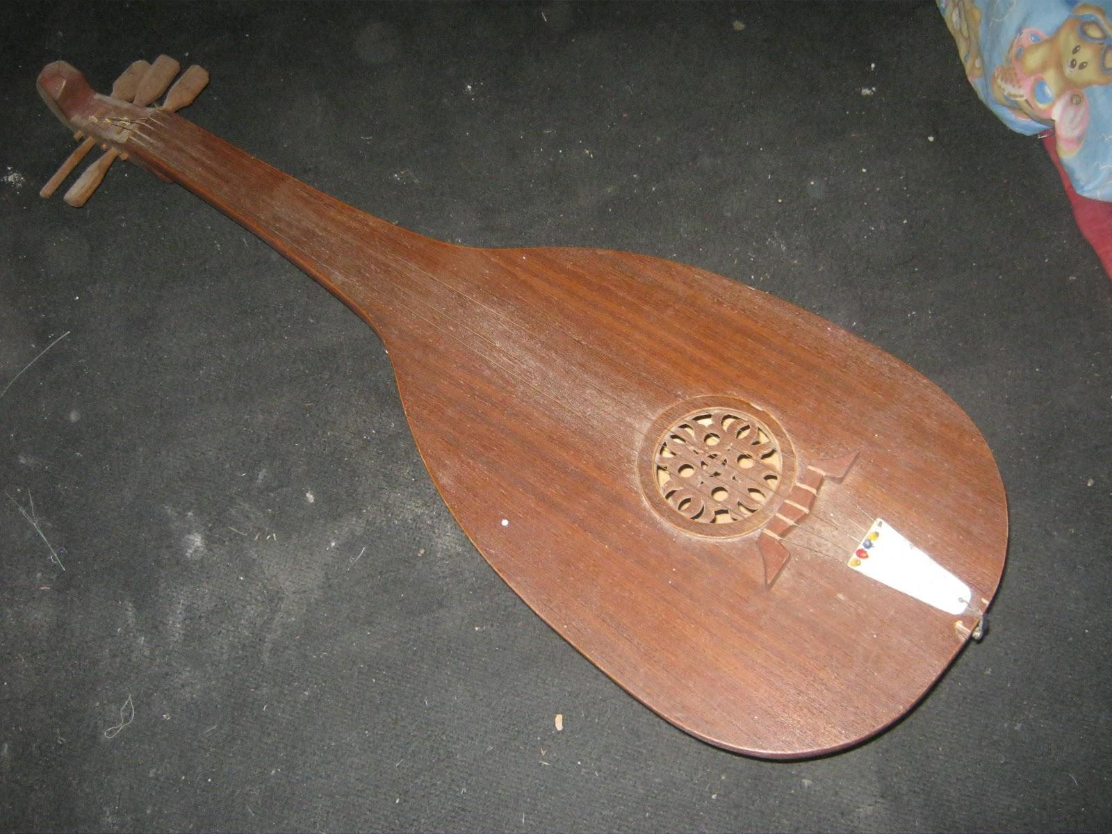 alat musik gambus jambi