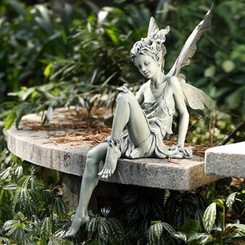 Statues Art Garden Deco